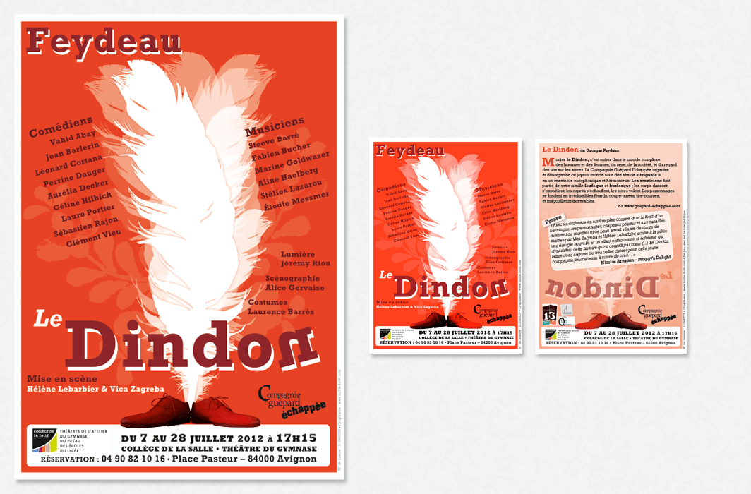 Graphicplume Affiche Dindon