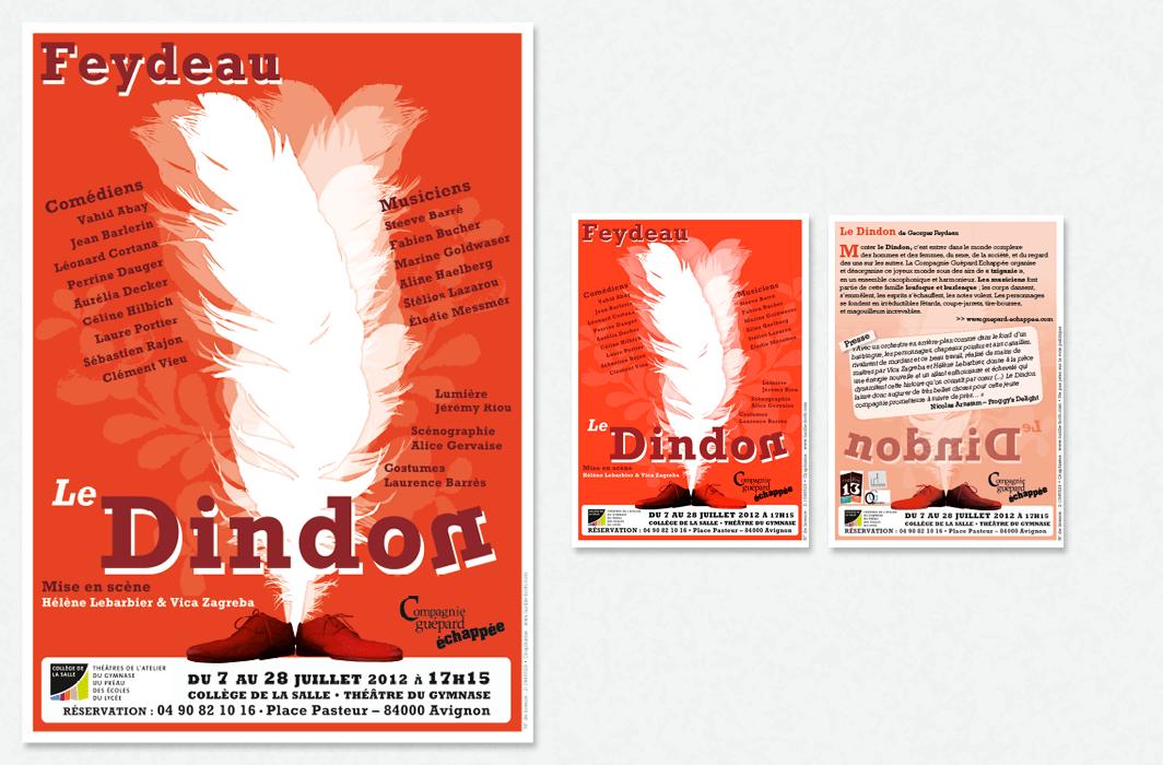 Graphicplume Affiche Dindon