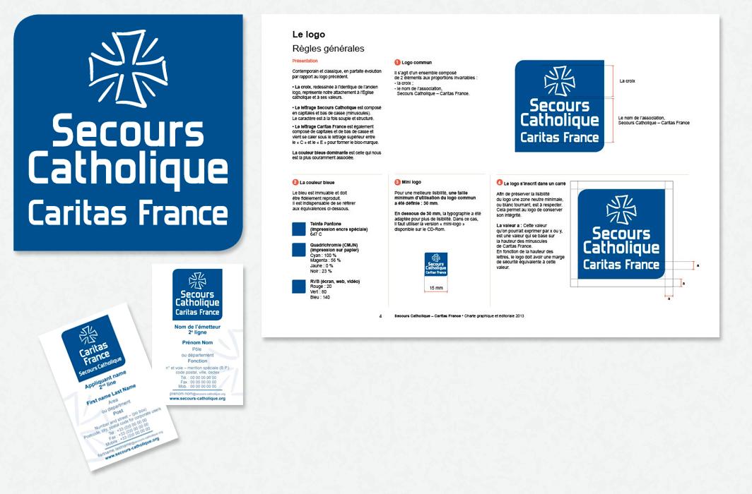Logo charte secours catholique graphicplume - Secours catholique poitiers ...