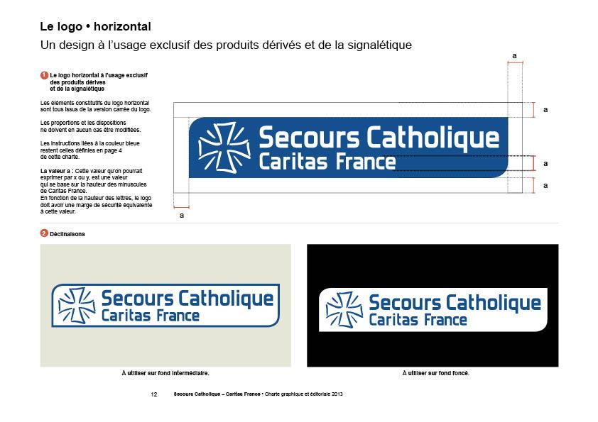 Secours catholique charte graphique chromatiques graphicplume - Secours catholique poitiers ...