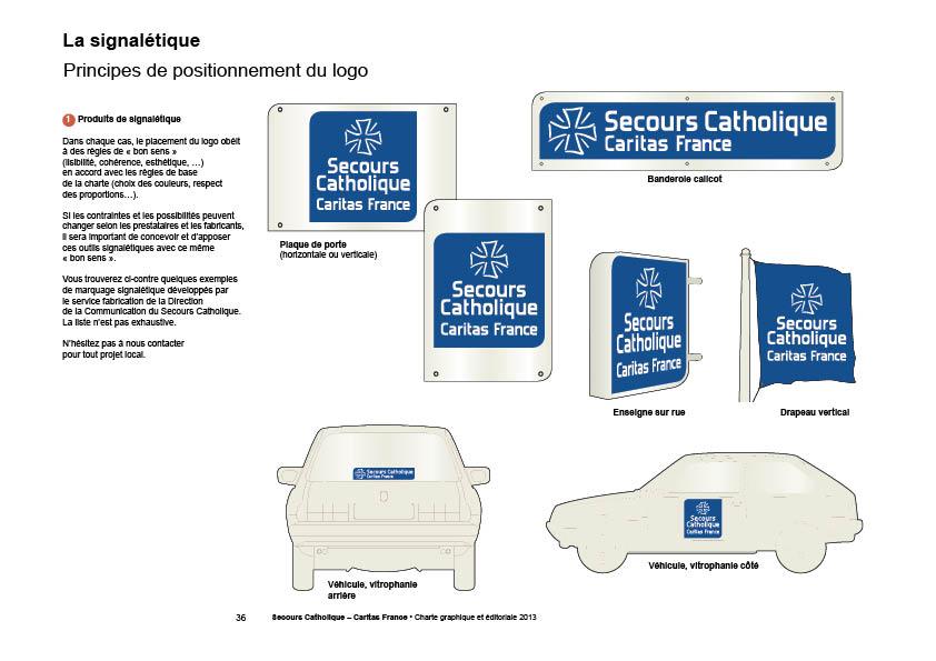 Secours Catholique Charte graphique – Chromatiques