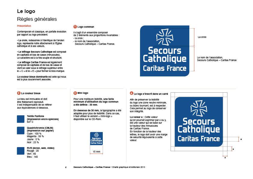 Logo charte Secours Catholique Graphicplume # Secours Catholique Rosny Sous Bois