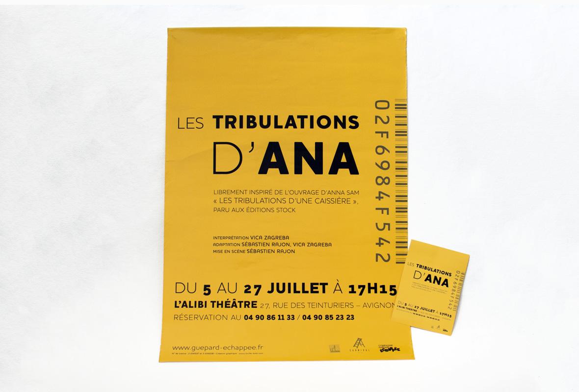 Graphicplume – Affiche les tribulations d'Ana